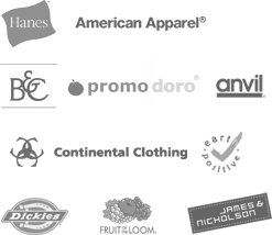 Our t-shirt brands