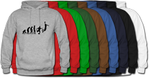 Basketball hooded sweatshirts for men