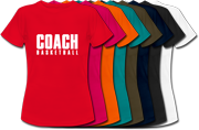Basketball t-shirts for women